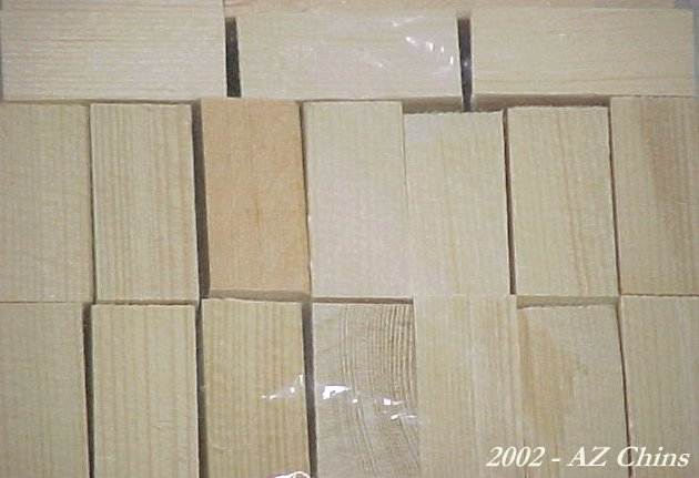 Basic Pine Blocks